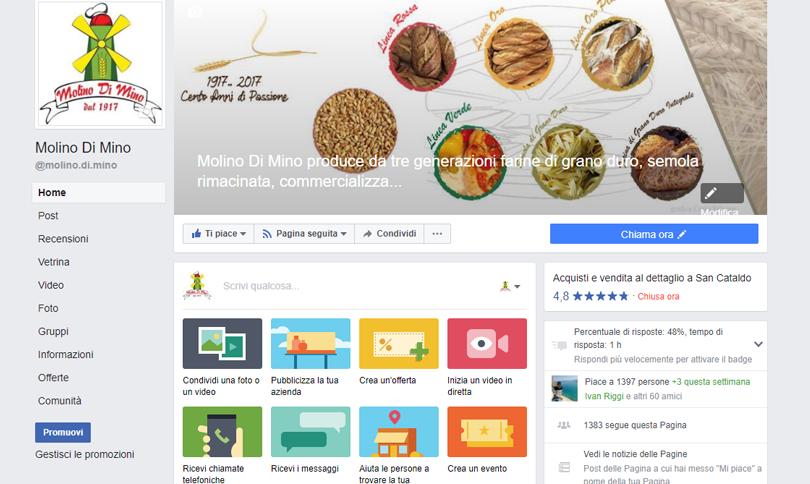 Facebook Molino Di Mino