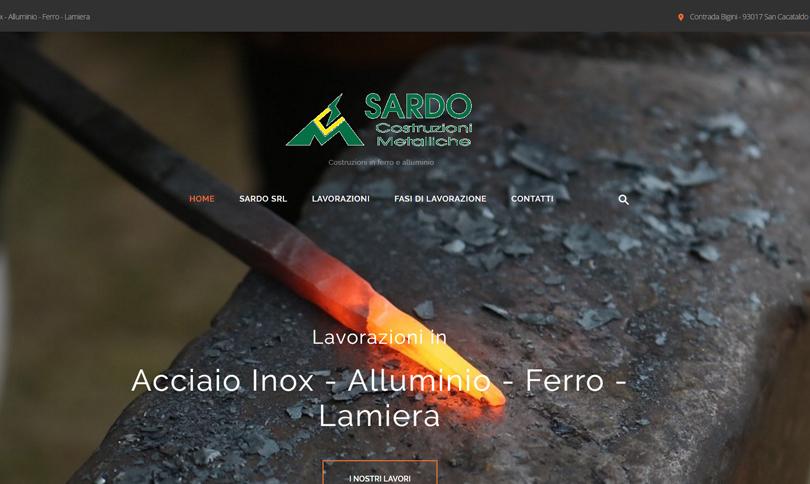 sito web Sardo srl