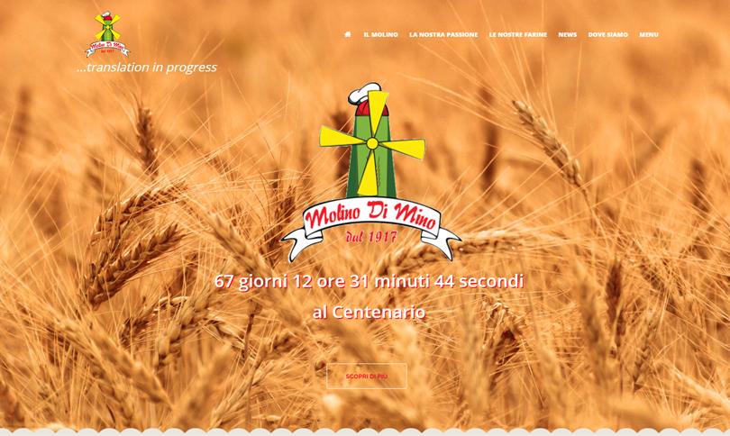 sito web Molino Di Mino