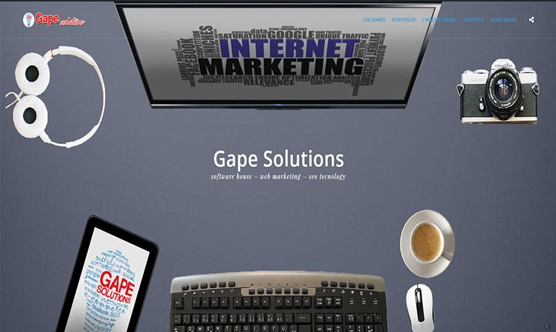 sito web Gape Solutions