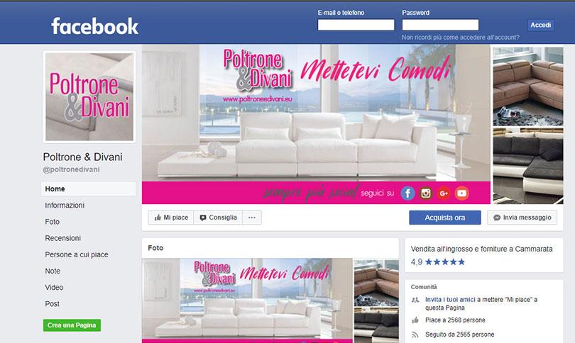 Facebook Poltrone e Divani