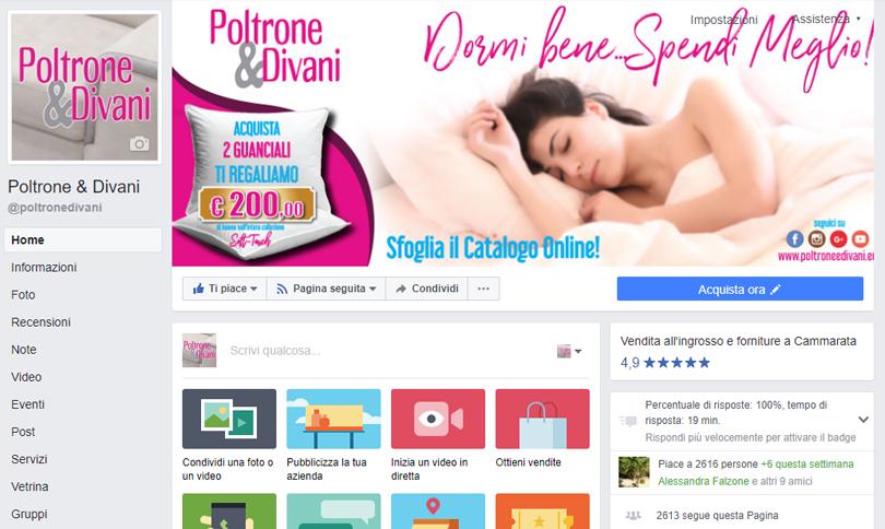 Facebook Poltrone & Divani