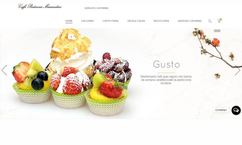 sito web Pasticceria Miserandino