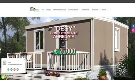 sito web Leonardi House