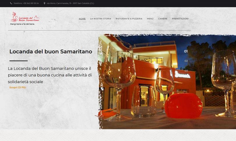 sito web La Locanda del Buon Samaritano