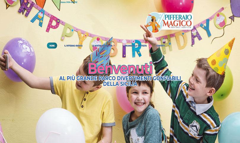 sito web Pifferaio Magico