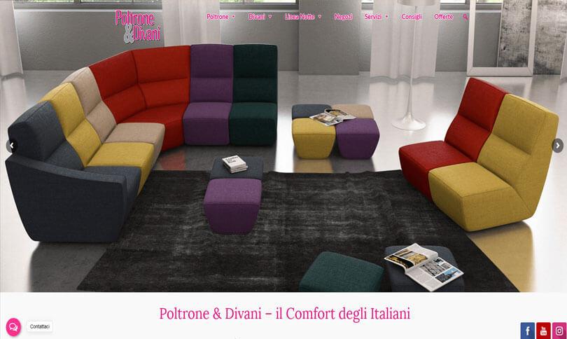 sito web Poltrone e Divani
