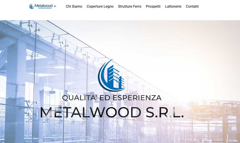 sito web Metalwood