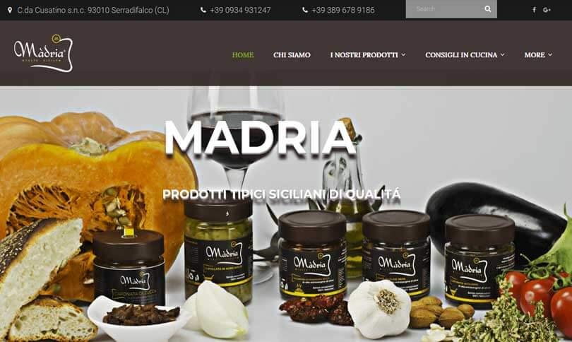 Madria - prodotti Siciliani di qualità